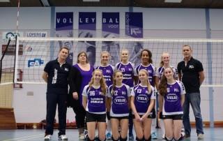VoCASA volleybal Nijmegen Meisjes A1 2014-2015