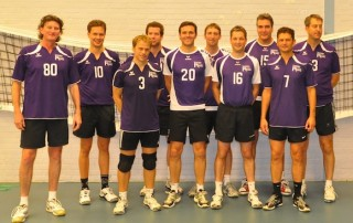 VoCASA volleybal Nijmegen heren 3 2014-2015
