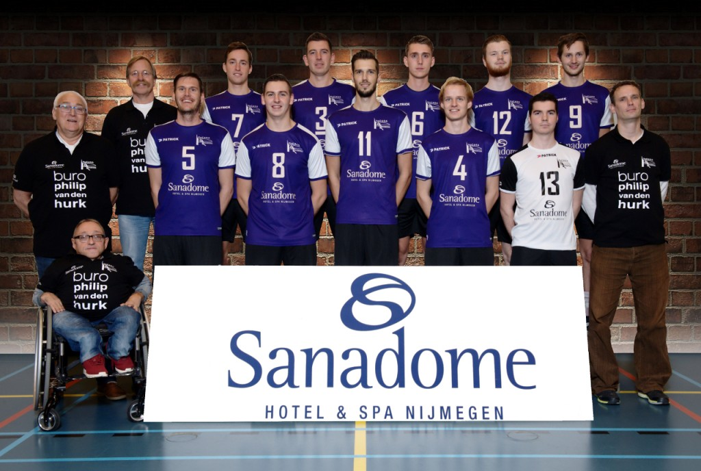 VoCASA volleybal Nijmegen Heren 1 2016-2017
