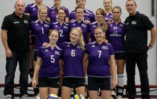 VoCASA volleybal Nijmegen dames 11 2012-2013