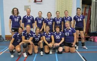 VoCASA volleybal Nijmegen dames 6 2012-2013