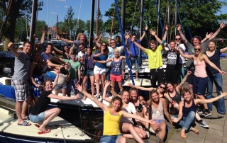 Zeilweekeinde Elahuizen VoCASA volleybal Nijmegen