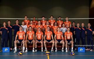 Jager van der Kamp fysiotherapie Oranje en VoCASA volleybal Nijmegen