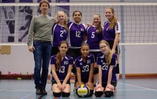 VoCASA volleybal Nijmegen Meisjes C2 2014-2015