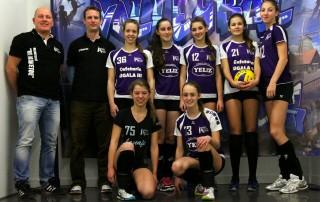 VoCASA volleybal Nijmegen Meisjes B1