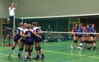 VoCASA Dames 3 VoCASA volleybal Nijmegen 2015-2016