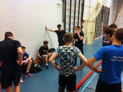 VoCASA volleybal Nijmegen Heren 2 mei 2016