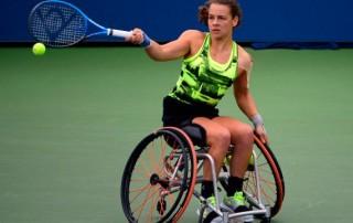 Marjolein Buis wint Roland Garros