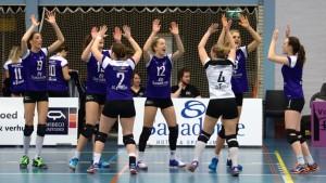 VoCASA volleybal Nijmegen Dames 1 maart 2017
