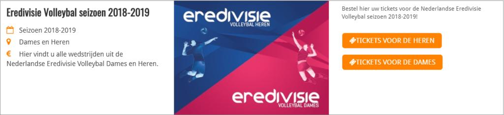 Tickets Eredivisie