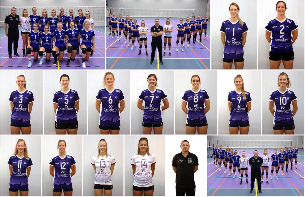 Team VoCASA Dames 1, 2020-2021