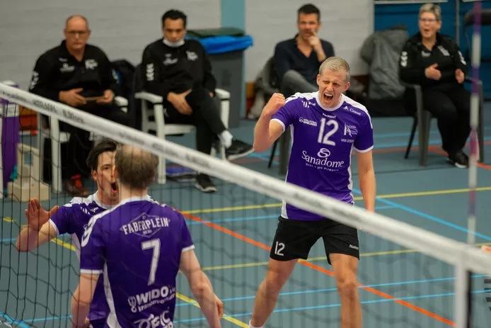 Tom van Steenis in extase na alweer een score
